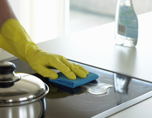 Limpiar hornallas de cocina