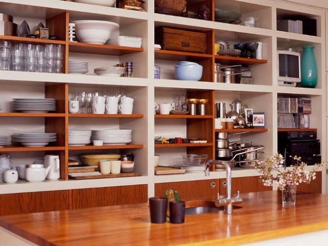C mo limpiar la alacena for Con que limpiar los armarios de la cocina