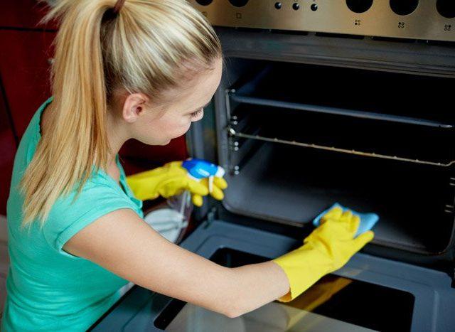 C mo limpiar el horno - Liquido para limpiar alfombras ...