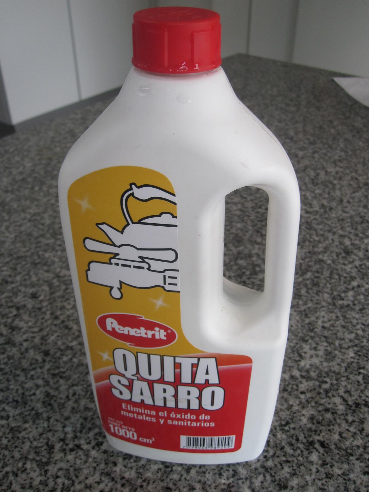 Limpiar Regadera De Baño:deben ser utilizados para sacar las grandes costras de sarro