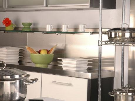 Cocinas de acero inoxidable para casa cmo disear una for Cocinas de acero inoxidable para casa