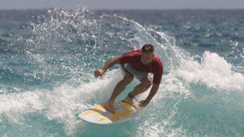 surf tabla cera