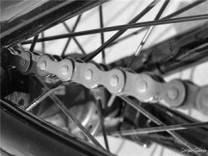 Como limpiar la cadena de una bicicleta?