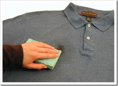 Tips para quitar grasa de la ropa