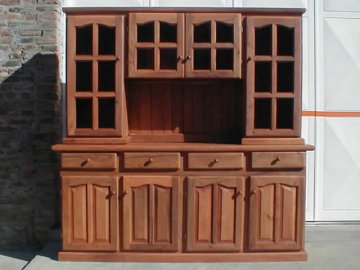 muebles oscuro