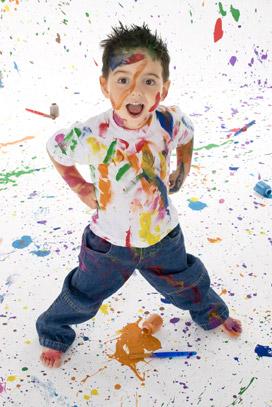 Como quitar manchas de pintura acrilica