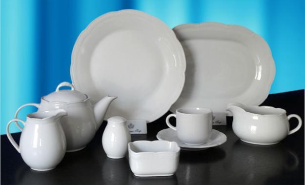 C mo limpiar o blanquear la porcelana for Vajilla porcelana