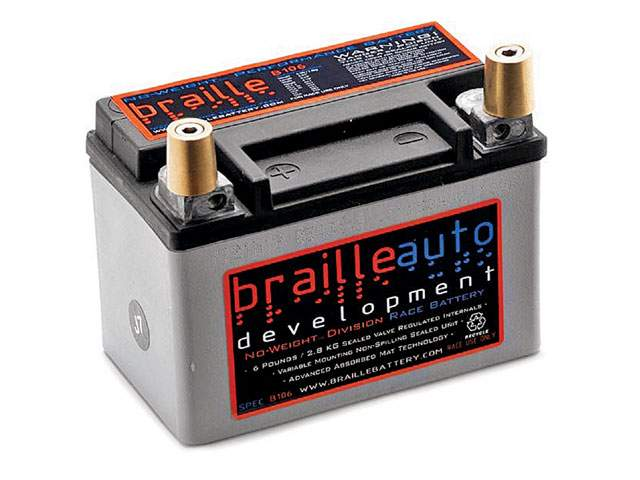 Small Racing Car Battery