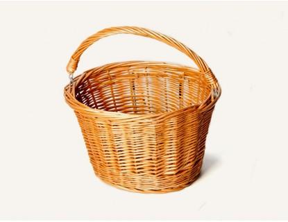 C mo limpiar cestas o canastas de mimbre - Como adornar una cesta de mimbre ...