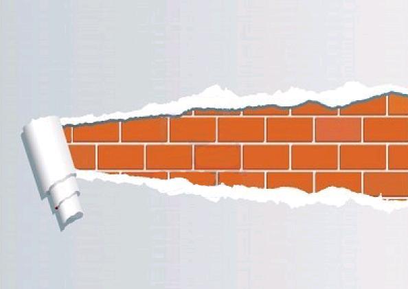 C mo quitar los restos de pegamento del papel de pared - Quitar papel pared ...