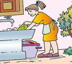 Cómo limpiar ropa a mano?