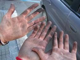 Cómo limpiar/desengrasar las manos?