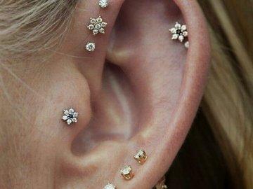 piercing en oreja