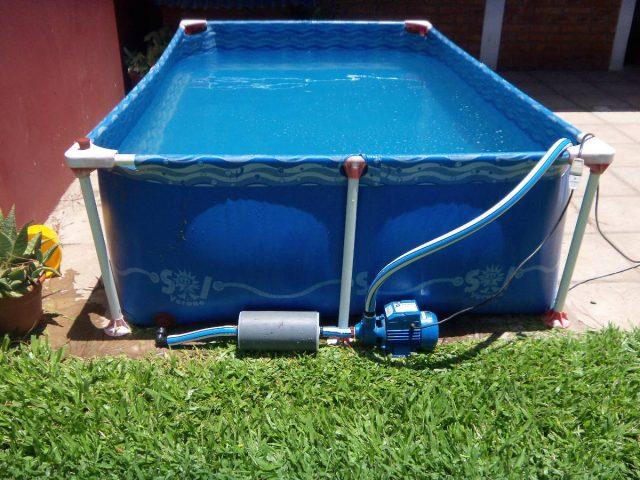c mo limpiar el filtro de agua de la piscina