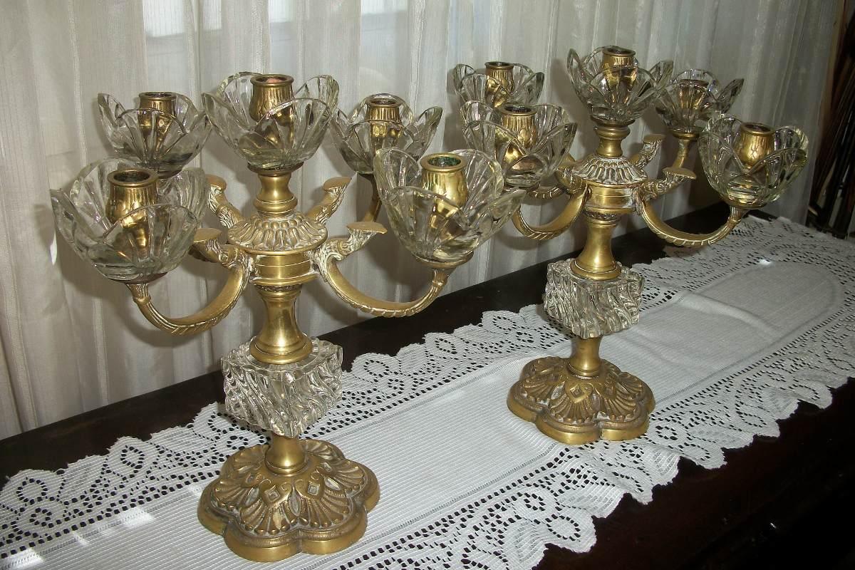 Limpiar lamparas de bronce good antigua lampara de techo - Limpiar lamparas de cristal ...