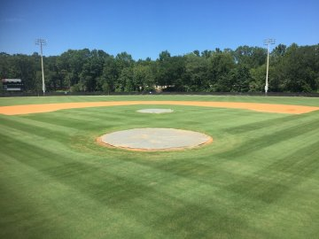 como limpiar campo de baseball