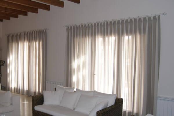 C mo limpiar cortinas blancas for Cortinas blancas